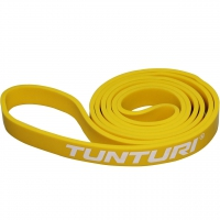 Tunturi Gummizug - Power Band Light 2.2 cm Gelb