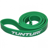 Tunturi Gummizug - Power Band Medium 2.9 cm Grün